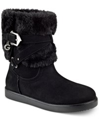 G By Guess Alixa Cold Weather Booties Women's Shoes Black