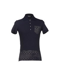 Iceberg Topwear Polo Shirts Men Dark Blue