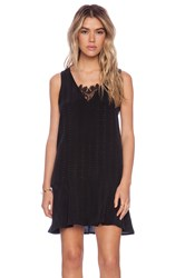 Liv Terra A Line Dress Black