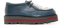 Msgm Blue Crystal Derbys