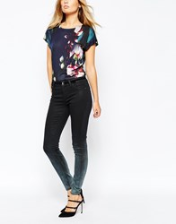 Ted Baker Ombray Wash Denim Jean Black