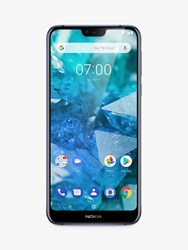 Nokia 7.1 Smartphone Android 5.8 4G Lte Sim Free 32Gb Blue