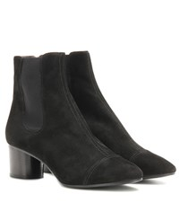 Isabel Marant Danae Suede Ankle Boots Black