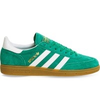 Adidas Spezial Suede Trainers Green White Gold
