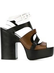 Pierre Hardy Platform Sandals Black