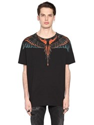Marcelo Burlon Cerro Blanco Printed Cotton T Shirt
