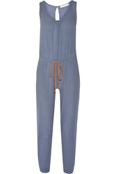 Kain Label Hudson Cotton Jumpsuit Blue