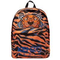 Kenzo Tiger Print Backpack Red