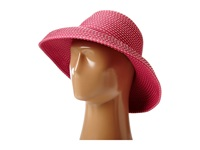 San Diego Hat Company Rbm4784 Ribbon Kettle Brim Hat Hot Pink Traditional Hats