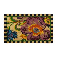 Mackenzie Childs Flower Market Entrance Mat