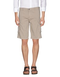 Eredi Del Duca Bermudas Light Grey