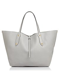 Annabel Ingall Isabella Large Leather Tote Shadow Gray Gold