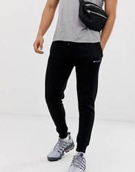 Nicce London Joggers In Black With Logo
