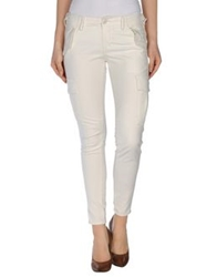 Denim And Supply Ralph Lauren Casual Pants Ivory