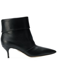 Paul Andrew Banner Ankle Boots Black
