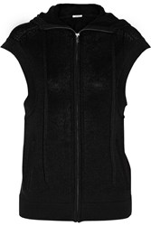 Helmut Lang Cashmere Hooded Vest Black