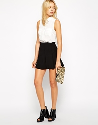 Mango Skater Skirt Black