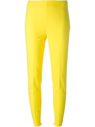 Moschino Skinny Trousers Yellow And Orange