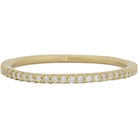 Tate Diamond And Gold Eternity Ring