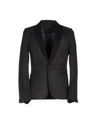 Phonz Says Black Suits And Jackets Blazers Men Steel Grey