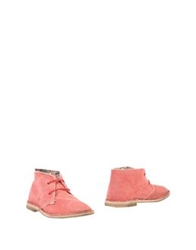 Le Crown Ankle Boots Coral