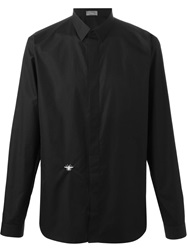 Christian Dior Dior Homme Bee Embroidery Shirt Black