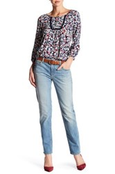 Velvet By Graham And Spencer Jenny Skinny Jean Blue
