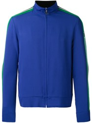 Msgm Zipped Jacket Blue