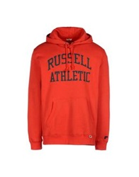 Russell Athletic Sweatshirts Red