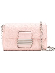 Etro Quilted Clutch Bag Pink And Purple