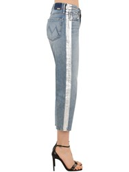 Mother The Trasher Denim Jeans W Side Bands Array 0X5844408