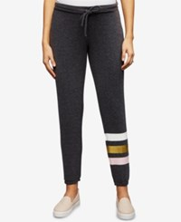 A Pea In The Pod Maternity Under Belly Jogger Pants Grey Stripe