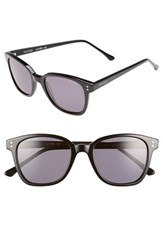 Men's Komono 'Renee' 52Mm Sunglasses Glossy Black Smoke