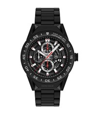 Tag Heuer Connected Modular Smart Black Pvd Titanium Chronograph Bracelet Watch