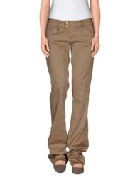 Met And Friends Trousers Casual Trousers Women Khaki