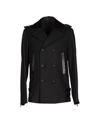 Class Roberto Cavalli Coats And Jackets Coats Men Black