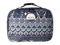 Roxy Daily Break Lunch Bag Dress Blue Ax Hippie Hop Borde Wallet
