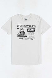 Unif Life Removal Tee White