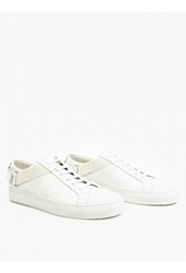 Oamc White Leather Strap Detail 8000' Sneakers