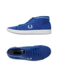 Fred Perry Footwear High Tops And Trainers Men Pastel Blue