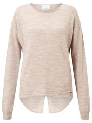 Numph Juniana Merino Wool Jumper Peach