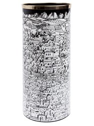 Fornasetti Umbrella Stand White