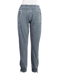 Kensie Distressed Jogger Pants Steel
