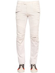 Balmain 17Cm Biker Destroyed Denim Jeans