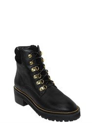 Kat Maconie 50Mm Leather And Suede Boots
