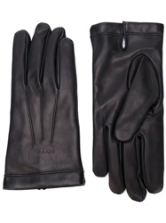 Etro Wool Lined Gloves Black