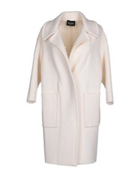Neera Full Length Jackets White