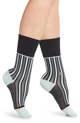 Stance Women's Stripe Crew Socks Navy