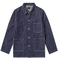 Needles D.N. Coverall Jacket Blue