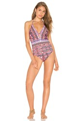 Nanette Lepore Goddess One Piece Pink